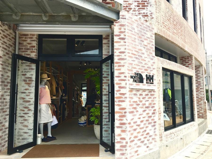 THE NORTH FACE / HELLY HANSEN 石垣店