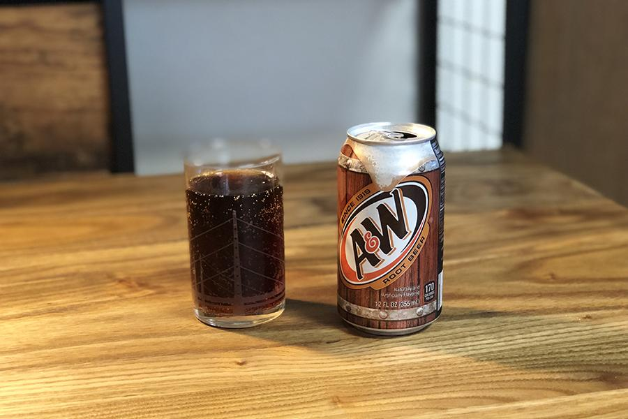 A&W的「Root Beer」