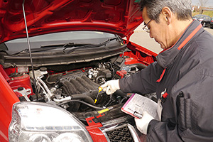 Recommended because there are Nissan professionals for inspection and maintenance