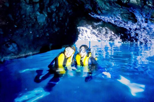 の いつまで 青 洞窟