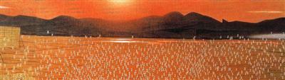 岩橋英遠「道産子追憶之巻」/北海道立近代美術館 | たびらい